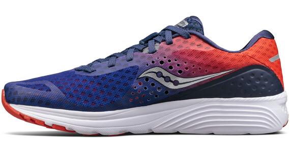 saucony Kinvara 8 Running Shoes Men Navy/Orange